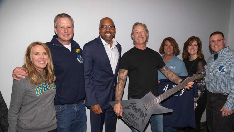 Metallica awards GRCC $25,000 towards underserved, non-traditional students