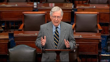 McConnell proposes swift impeachment trial with long days